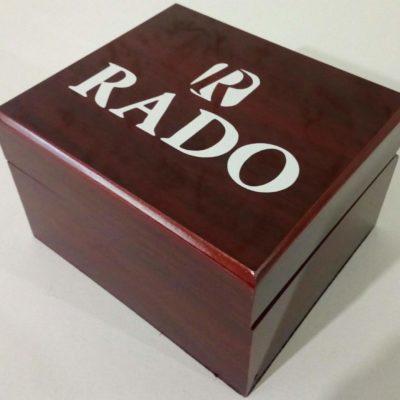 Фирменная коробка для часов Rado