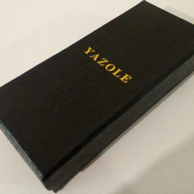 Фирменная коробка из картона для часов Yazole