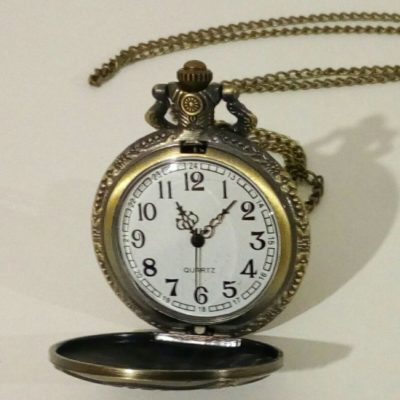 Карманные часы на цепочке для пожарного