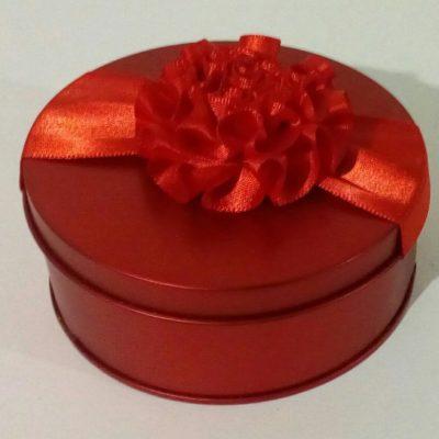 Круглая подарочная коробочка