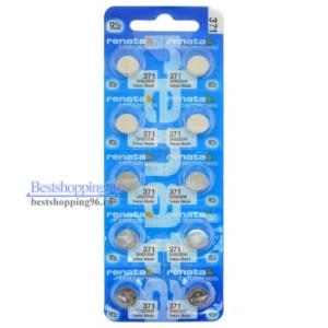 RENATA 371 блистер Батарейка (цена за 1 батарейку)