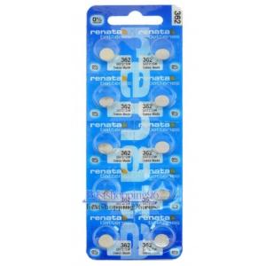 RENATA 362 блистер Батарейка (цена за 1 батарейку)