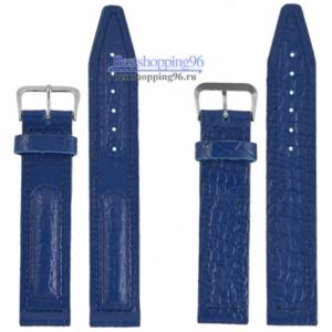 ВОСТОК 18 мм син хр пряжка ремешок