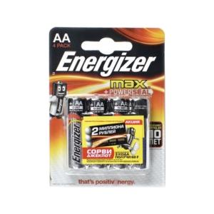 ENERGIZER LR6, тип AA, ALKALINE(блистер 20шт.) (цена за 1 батарейку)