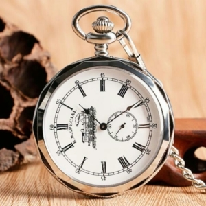 Механические карманные часы на цепочке R.R.SPECIAL