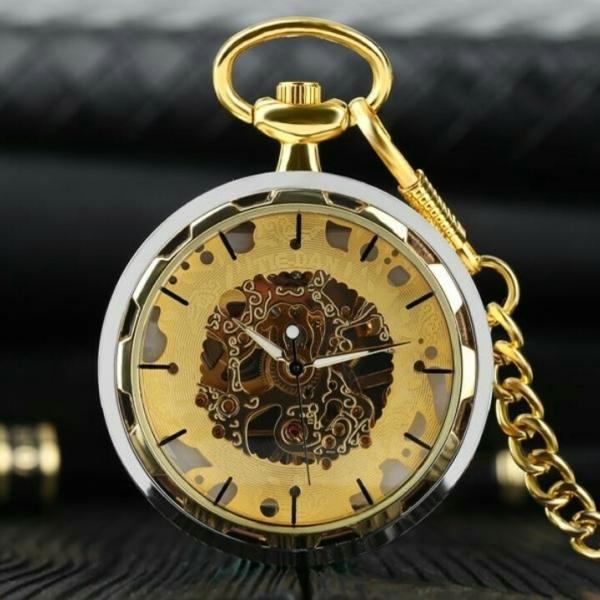 Механические карманные часы Winner