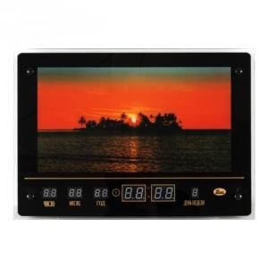 Картина с подсветкой с информационным календарем, Закат на морском острове (32х45см)