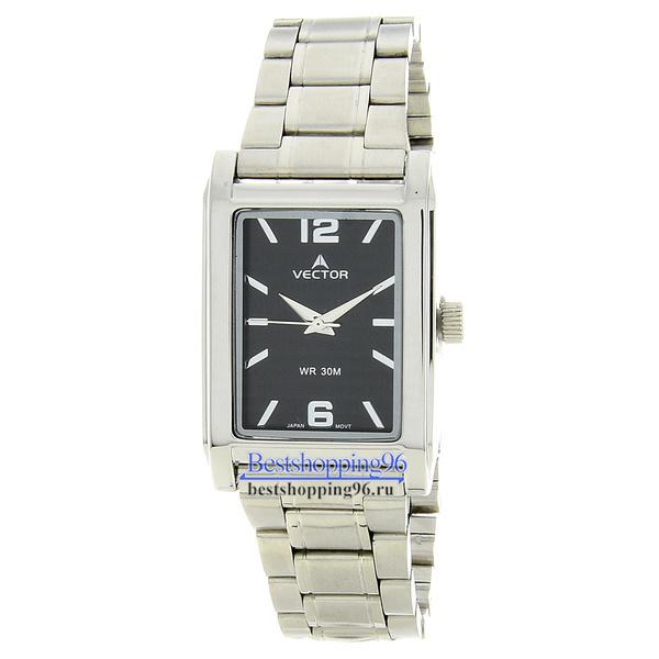 Наручные часы VECTOR V8-112413 чёрные