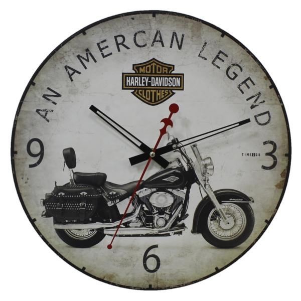 Настенные часы TIME 2 GO 449 Harley Davidson