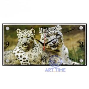 Часы настенные Ягуары белые, 21 Bek 1939-1174 (10)
