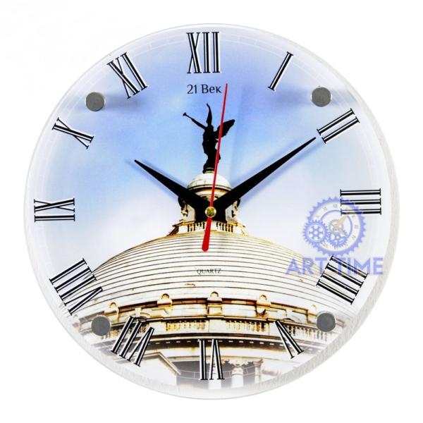 Часы настенные 21 Bek Ангел на куполе 2020-136 (20)