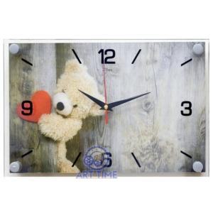 Часы настенные 21Век Плюшевое сердце 2030-16