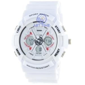 Спортивные наручные часы Skmei 0966WT white