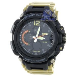 Спортивные наручные часы Skmei 1343KH khaki