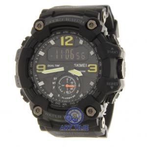 Спортивные наручные часы Skmei 1637GYBK gray black