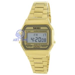 Винтажные наручные часы Skmei 1123GD gold