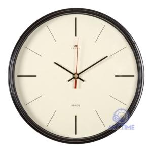 Часы настенные Рубин круг d=29см, корпус темно-коричневый Классика 2940-003