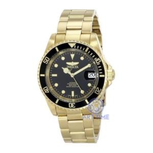 Механические часы Invicta Automatic Pro Diver 200M 8929OB золото