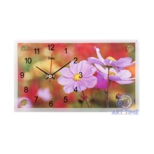 Настольные часы 21 век 1323-115 Цветы