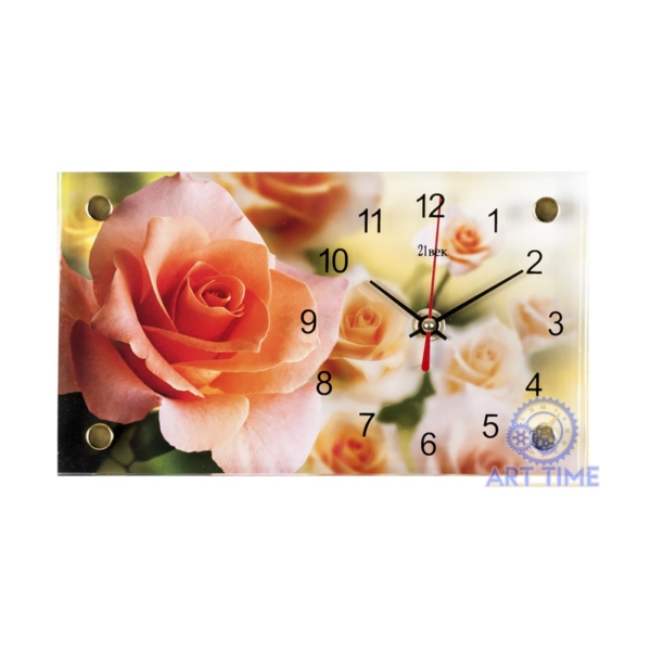 Настольные часы 21 век 1323-634, Роза