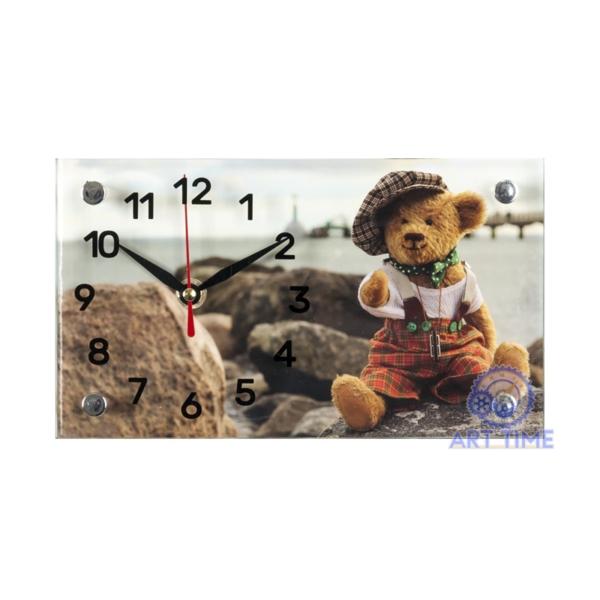 Настольные часы 21 век 1323-639, Мишка в подарок