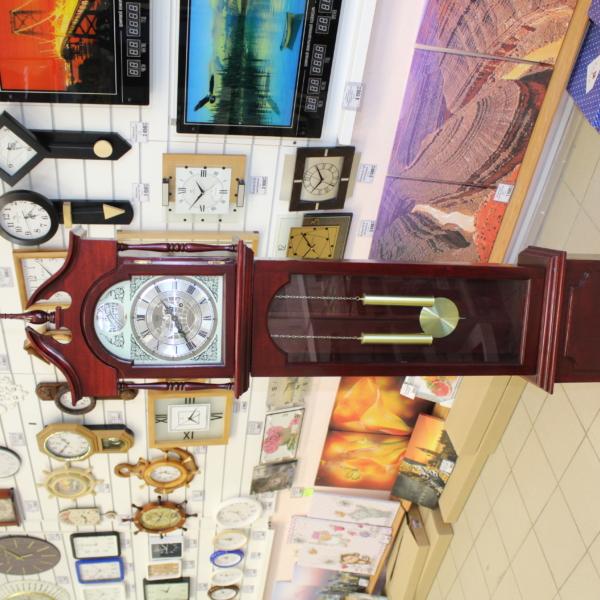 Напольные механические часы с боем Tempus Fugit
