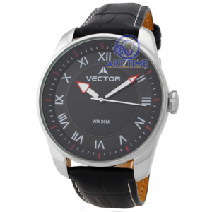 Наручные часы VECTOR 0845151-V8 корпус хром циферблат чёрный